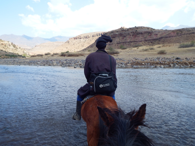 In areas too remote for vehicles, Gideons relied on horses to help them deliver God's Word to the beautiful uttermost.