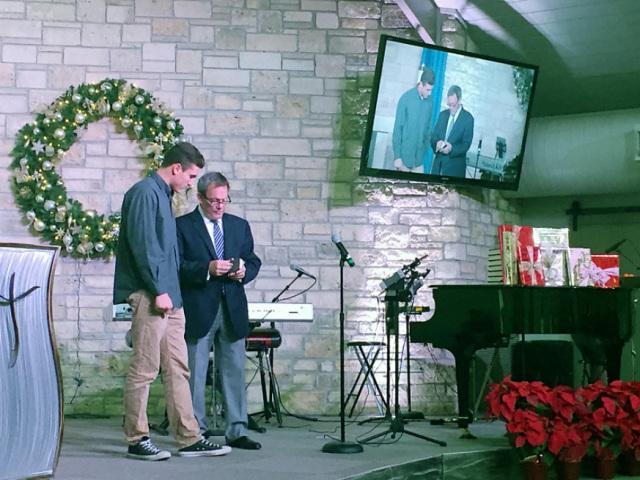 Pastor Mark Brauer