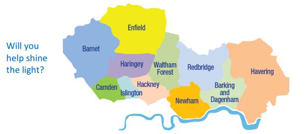 London Blitz Areas