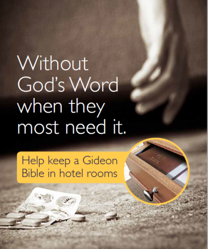 Hotel Bible Campaign 1