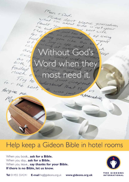 Hotel Bible Campaign 2