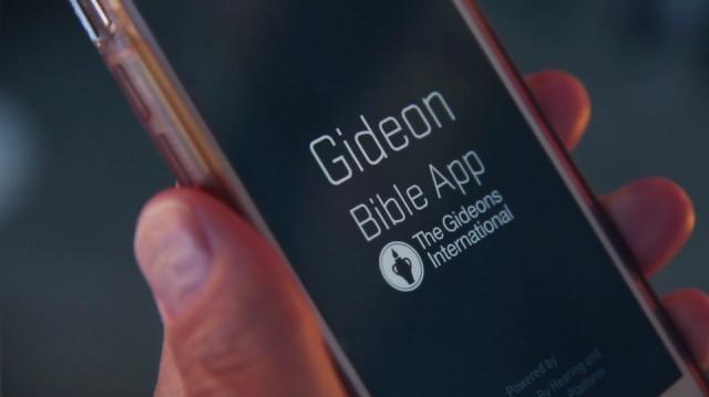 Gideons Bible App